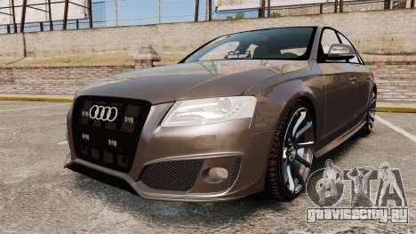 Audi S4 2013 Unmarked Police [ELS] для GTA 4