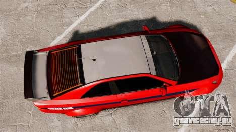 Sultan R-S для GTA 4 вид справа