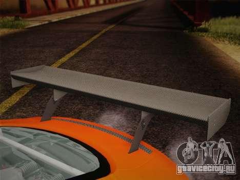 Audi R8 LMS v2.0.4 DR для GTA San Andreas вид сверху
