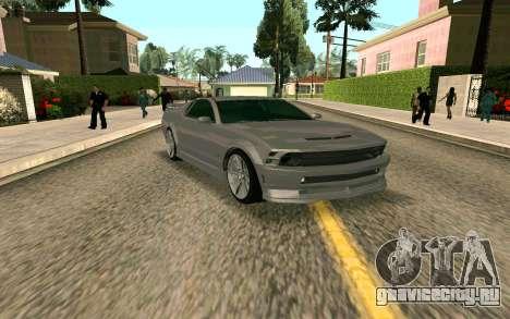GTA V Vapid Dominator для GTA San Andreas вид слева