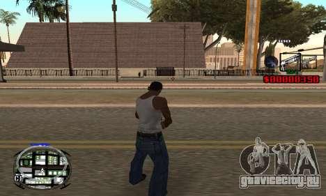 C-HUD (LSPD) для GTA San Andreas третий скриншот