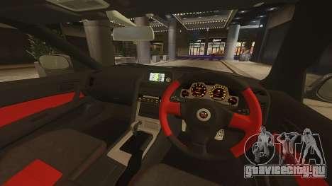 Nissan Skyline GTR-34 Nismo Z-Tune для GTA 4 вид сзади