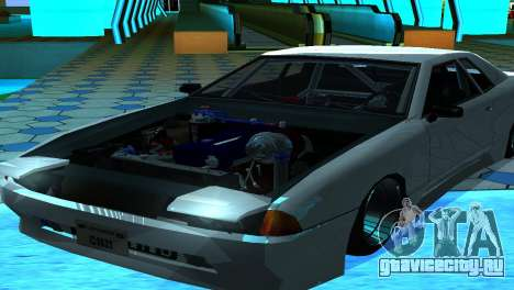 Elegy 280sx v2.0 для GTA San Andreas вид сзади слева