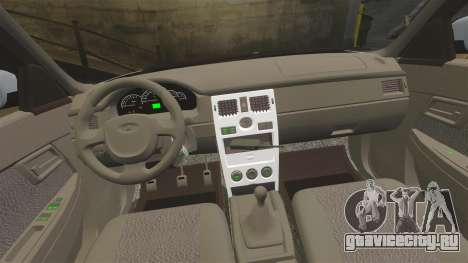 ВАЗ-2170 Полиция для GTA 4 вид сбоку