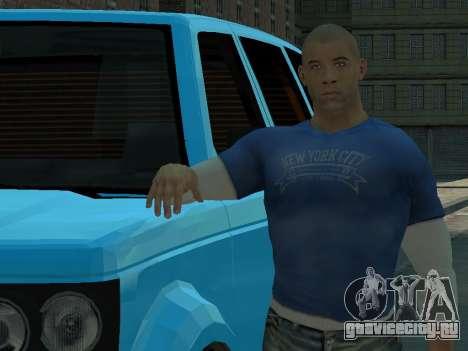 Vin Diesel Wheelman для GTA 4 третий скриншот