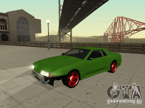 Elegy by X3noNon для GTA San Andreas вид слева