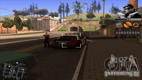 C-Hud Eazy-E для GTA San Andreas третий скриншот
