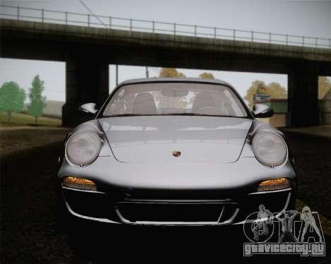 Porsche 911 Carrera для GTA San Andreas вид снизу