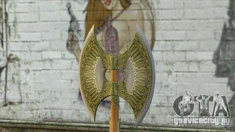 Legendary Combat Axe для GTA San Andreas второй скриншот