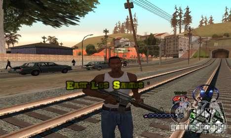 HUD by Anatole для GTA San Andreas