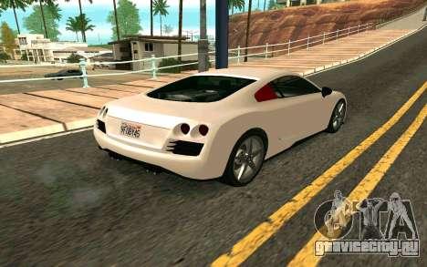 GTA V Obey 9F Version 2 FIXED для GTA San Andreas вид слева