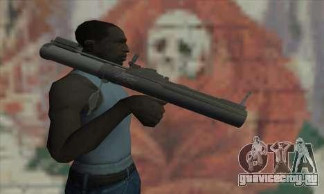 M72 LAW для GTA San Andreas третий скриншот