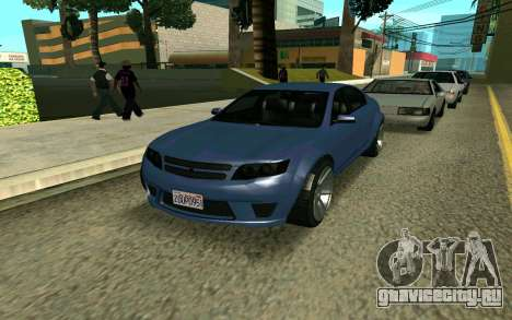 GTA V Fugitive для GTA San Andreas