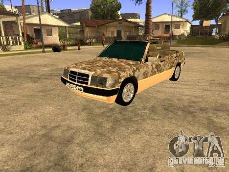 Mercedes-Benz 190E Army для GTA San Andreas