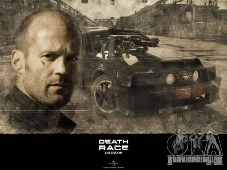 Загрузочные экраны Death Race для GTA San Andreas