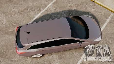 Hyundai i40 2013 Unmarked Police [ELS] для GTA 4 вид справа