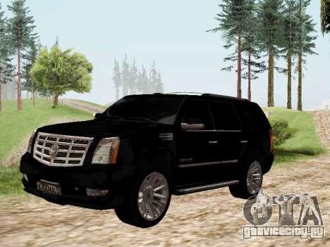 Cadillac Escalade 2010 для GTA San Andreas