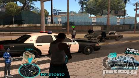 C-HUD Aztecaz by HARDy для GTA San Andreas второй скриншот