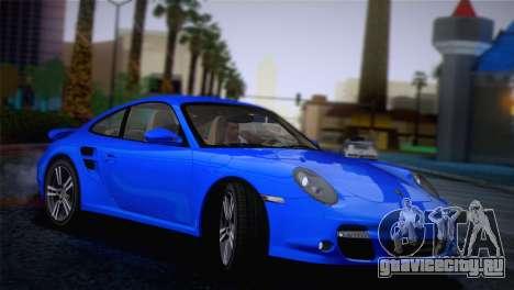 Porsche 911 Turbo Bi-Color для GTA San Andreas вид слева