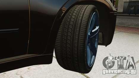 BMW X5M v2.0 для GTA 4 вид изнутри
