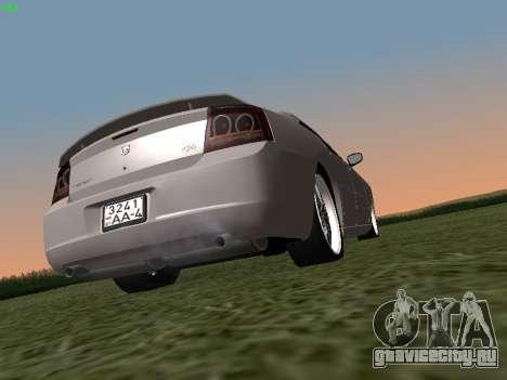 Dodge Charger RT 2008 для GTA San Andreas вид слева