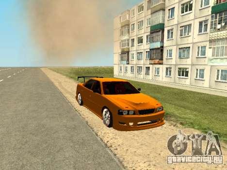 Toyota Сhaser для GTA San Andreas вид слева