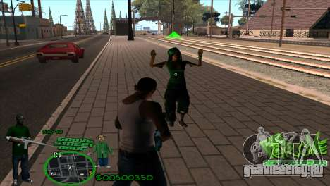 C-HUD Groove by HARDy для GTA San Andreas второй скриншот