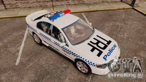 Ford BF Falcon XR6 Turbo Police [ELS] для GTA 4 вид сбоку