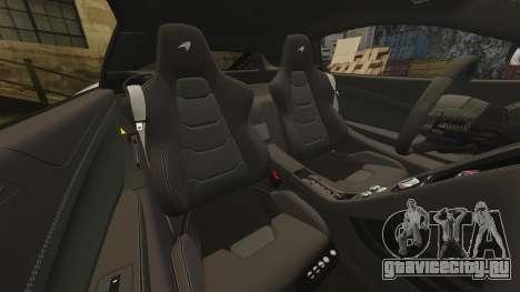 McLaren MP4-12C 2012 [EPM] для GTA 4 вид сверху