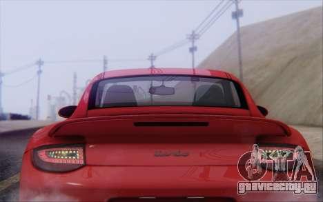 Porsche 911 Turbo для GTA San Andreas двигатель