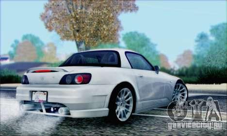 Honda S2000 Daily для GTA San Andreas колёса