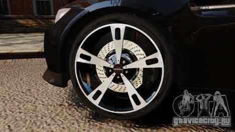 BMW M3 E92 AC Schnitzer ACS3-Sport для GTA 4 вид сзади