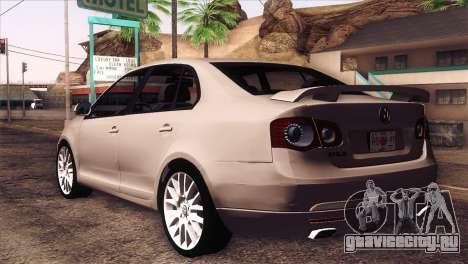Volkswagen Bora GLI для GTA San Andreas вид слева