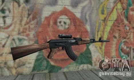 AK-47 Silencer для GTA San Andreas второй скриншот
