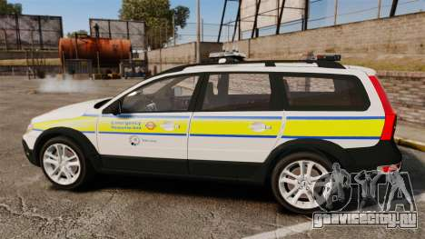 Volvo XC70 Emergency Response Unit [ELS] для GTA 4 вид слева