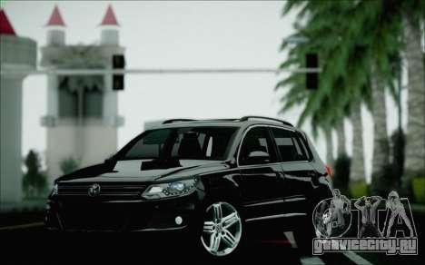 Volkswagen Tiguan 2012 для GTA San Andreas вид сверху