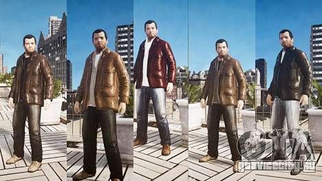 GTA V Майкл де Санта для GTA 4 второй скриншот