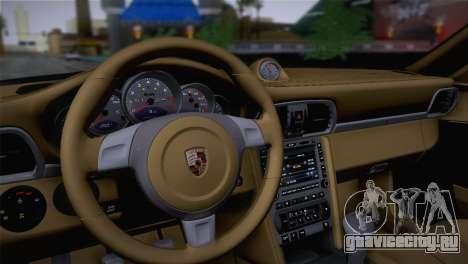 Porsche 911 Turbo Bi-Color для GTA San Andreas вид сзади