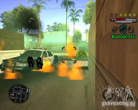 C-HUD by Santoro для GTA San Andreas четвёртый скриншот