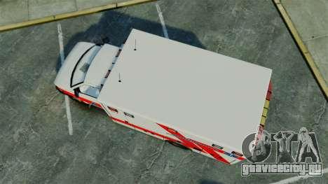 Brute Luxaid Ambulance [ELS] для GTA 4 вид справа