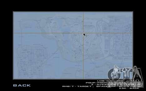 HQ Radar by Rockstar для GTA San Andreas третий скриншот