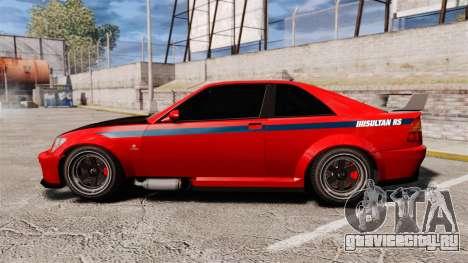 Sultan R-S для GTA 4 вид слева