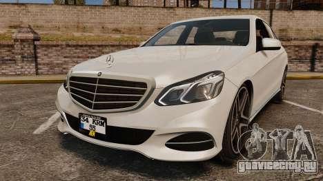 Mercedes-Benz E63 AMG 2014 v2.0 для GTA 4