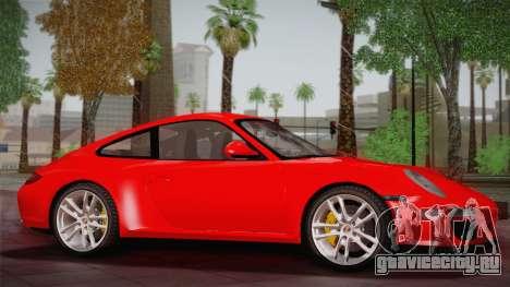Porsche 911 Carrera для GTA San Andreas вид слева