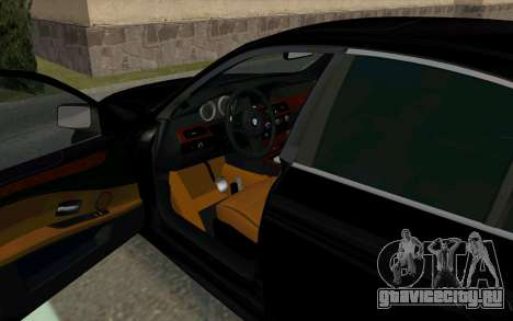 BMW 530xd для GTA San Andreas вид сзади слева