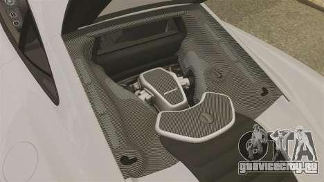 McLaren MP4-12C 2012 [EPM] для GTA 4 вид изнутри