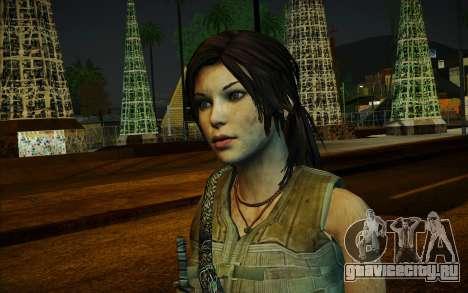 Tomb Raider Lara Croft Guerilla Outfit для GTA San Andreas второй скриншот