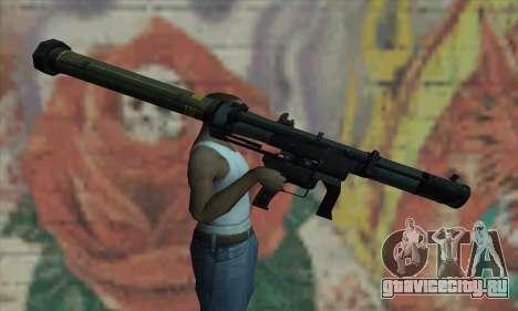 SMAW из BF3 для GTA San Andreas третий скриншот
