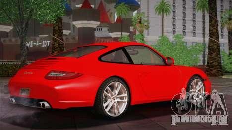 Porsche 911 Carrera для GTA San Andreas вид сзади слева