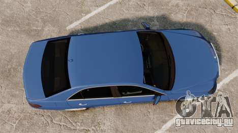 Mercedes-Benz E63 AMG 2014 для GTA 4 вид справа